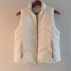 Down Puffy Vest with hood